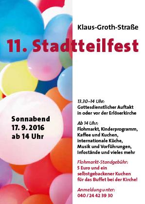 Stadtteilfest 2016 in Hamburg Borgfelde