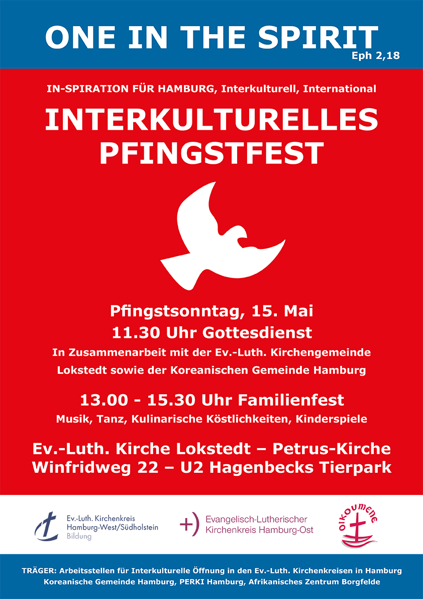 Interkulturelles Pfingstfest in Hamburg