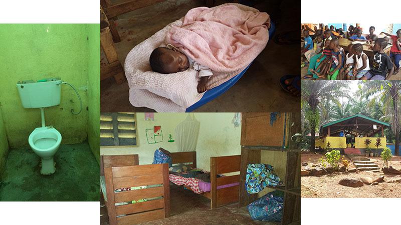 Afrikanisches-Zentrum-Borgfelde-Collage-Waisenhaus