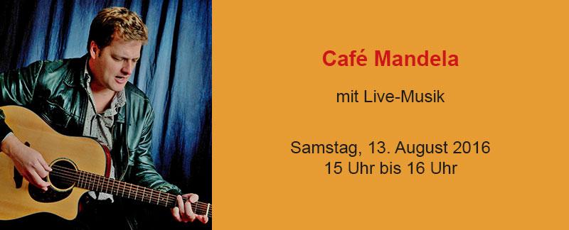 Café Mandela: Interkulturelles Cafè mit Henning Eigenwald