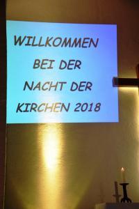 Nacht der Kirchen 2018