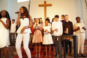 Internationer Gospel Gottesdienst - Taufen Hamburg18